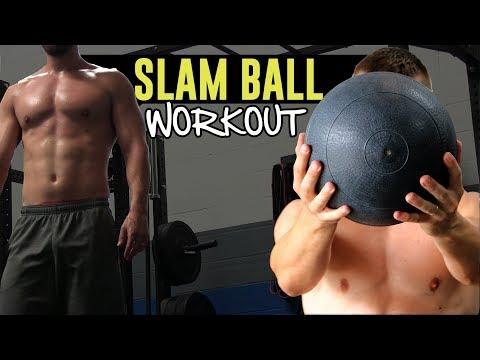 10-Minute Follow Along SLAM Ball Workout (Total Body Killer!)