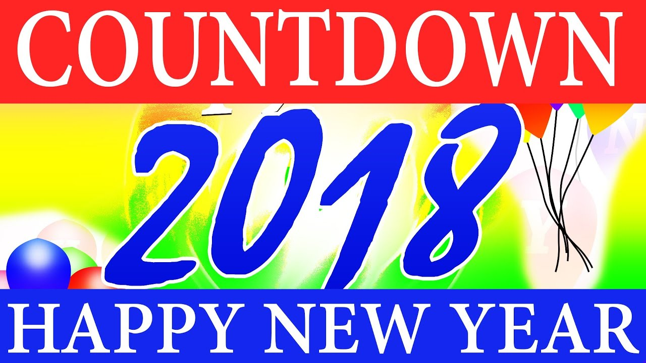 Happy New Year 2019 Countdown   60 Seconds Clock in ...