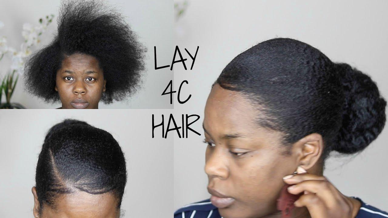 sleek slick lay 4c hair