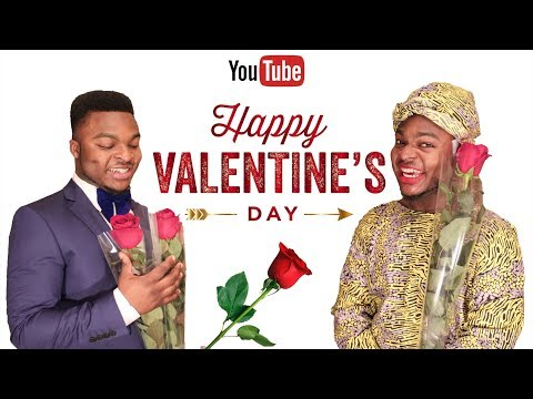 African Home: When You Plan On Going Out On Valentines Day