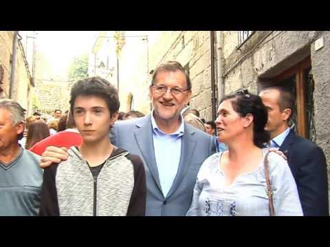 Visita Mariano Rajoy a Ourense