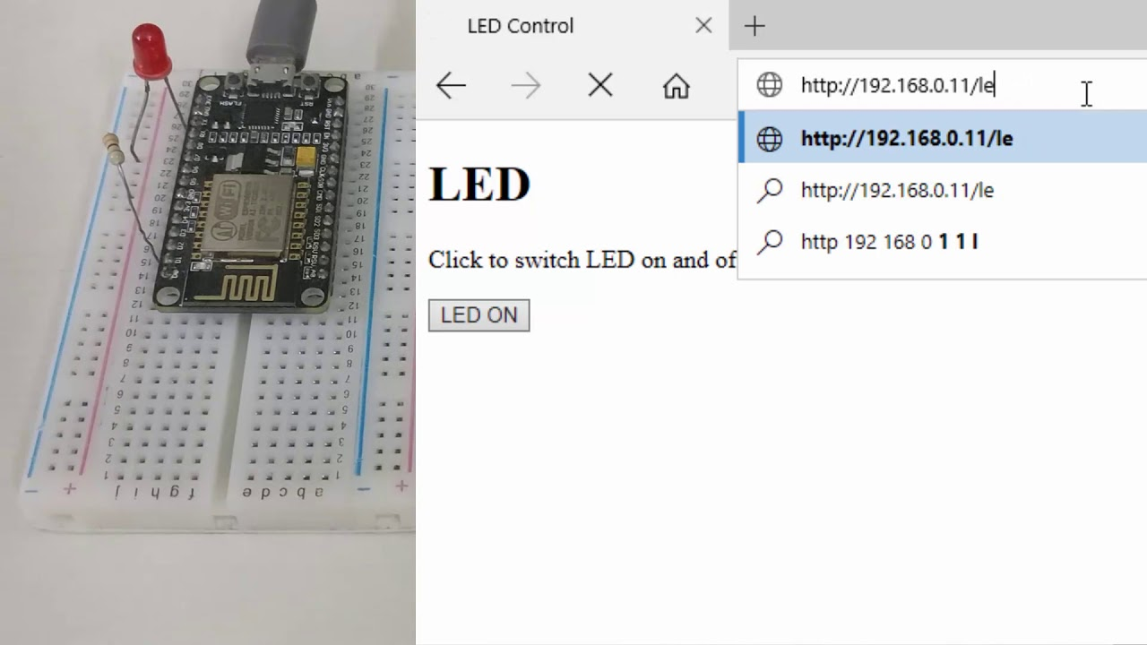 Nodemcu Http Server On Nodemcu With Arduino Ide | Nodemcu