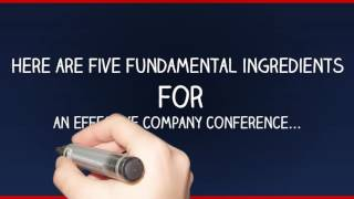 The importance of your own company conference - Corporate Challenge Events