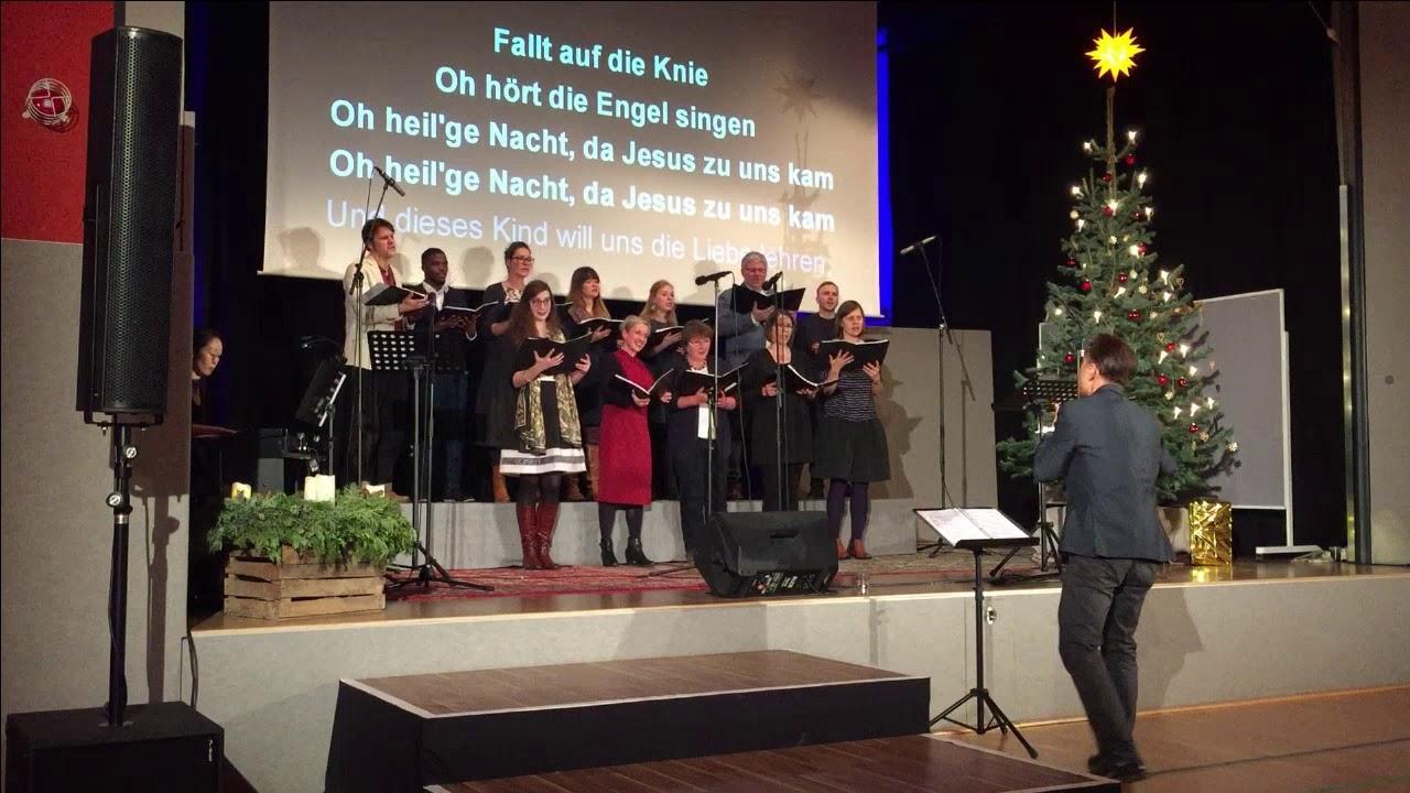 FeG Görlitz Chor-Weihnachtsgottesdienst 2019 - YouTube