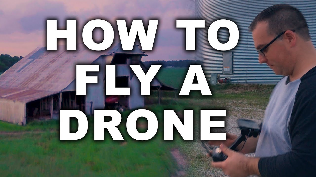 how to properly fly a drone