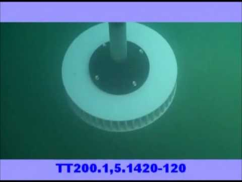 Aeration Turbine underwater view