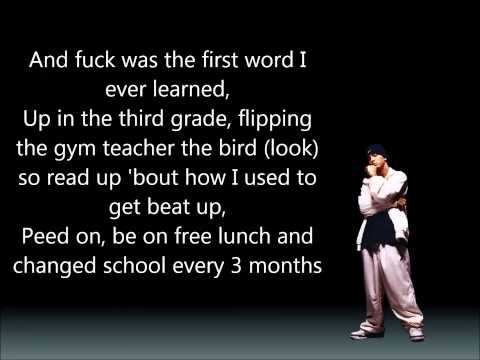Eminem - Who knew (Lyrics on screen)