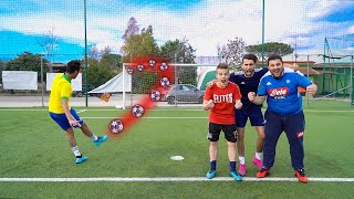 ⚽🥅 5 SHOT FOOTBALL CHALLENGE vs TONY TUBO e ENRY LAZZA!