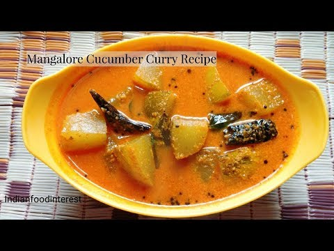 Mangaluru southekayi huli | Mangalore Cucumber Curry Recipe