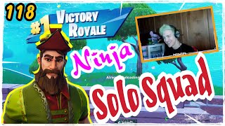 Ninja New Hacivat Skin Fortnite Game Play Part 2 Solo Squad Season 5