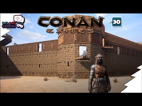 Conan Exiles - Stronghold Outer Defense Wall - E30