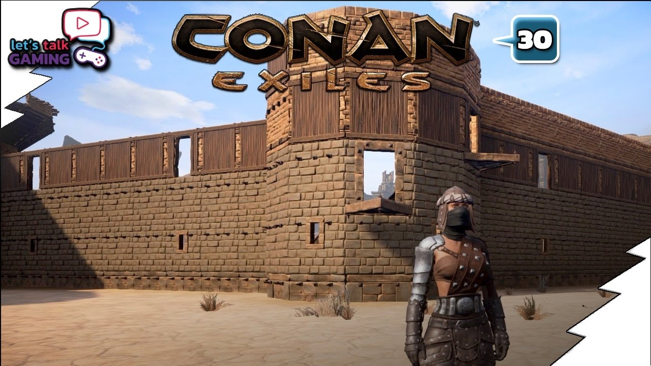 conan exiles how to keep your house warm