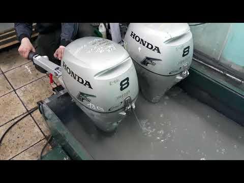 Продам лодочный мотор HONDA BF8лс 50тр от PLANET-WATERSPORT.RU