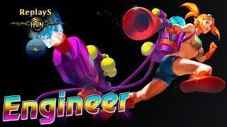 HoN replays - Engineer - Immortal - ???????? BigTheorem Legendary I