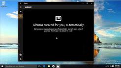Exploring the new Photos app in Windows 10
