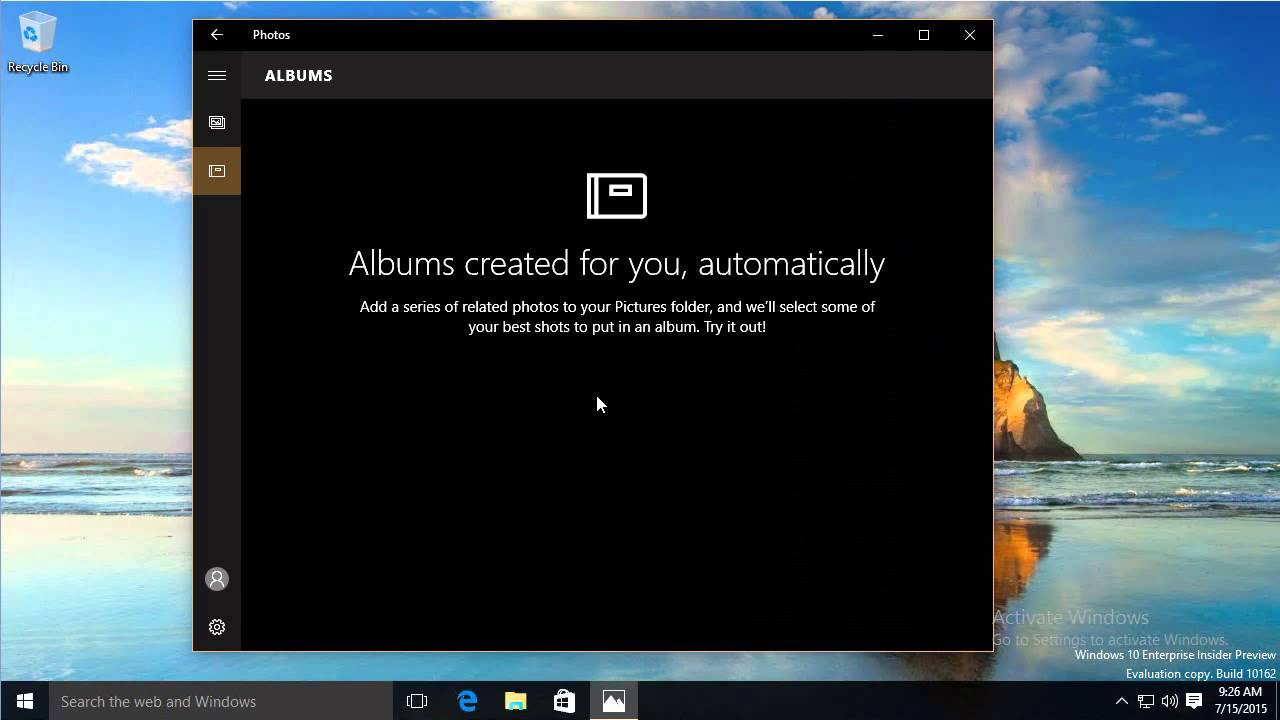 photo viewing app for windows 10