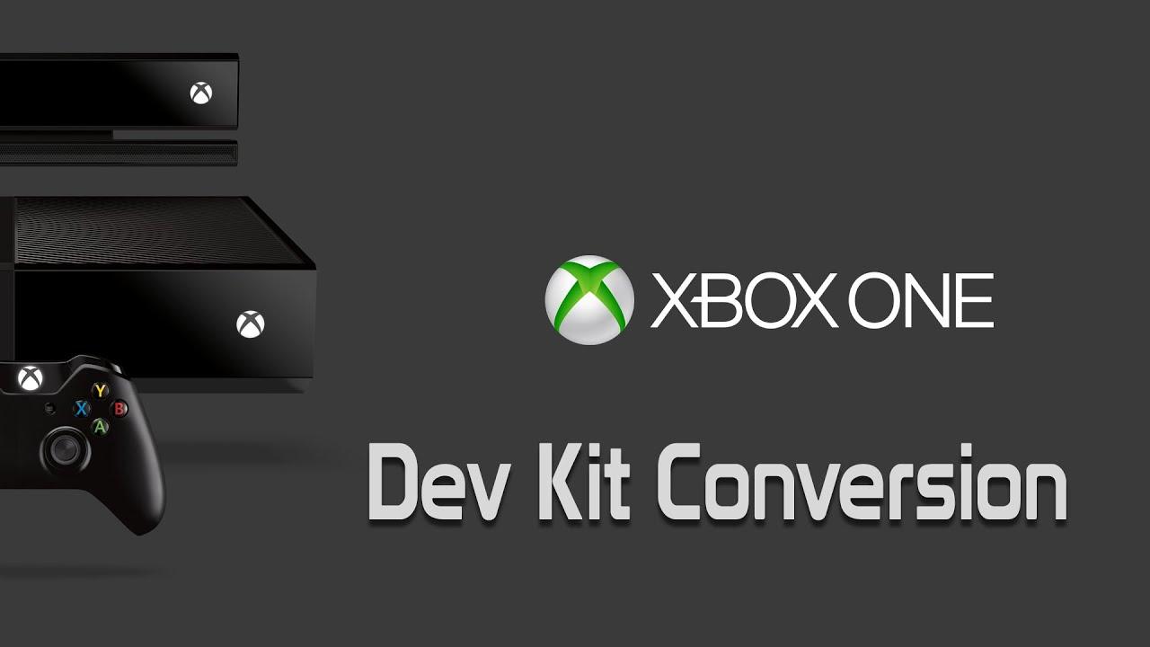 [Tutorial] Xbox One Dev Kit Conversion