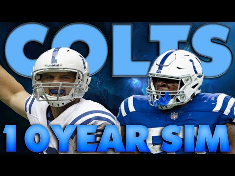 Best Linebacker Corps in the League! Madden 19 Indianapolis Colts 10 Year Sim!