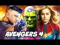 Captain Marvel Avengers 4 Secret Invasion News Explained