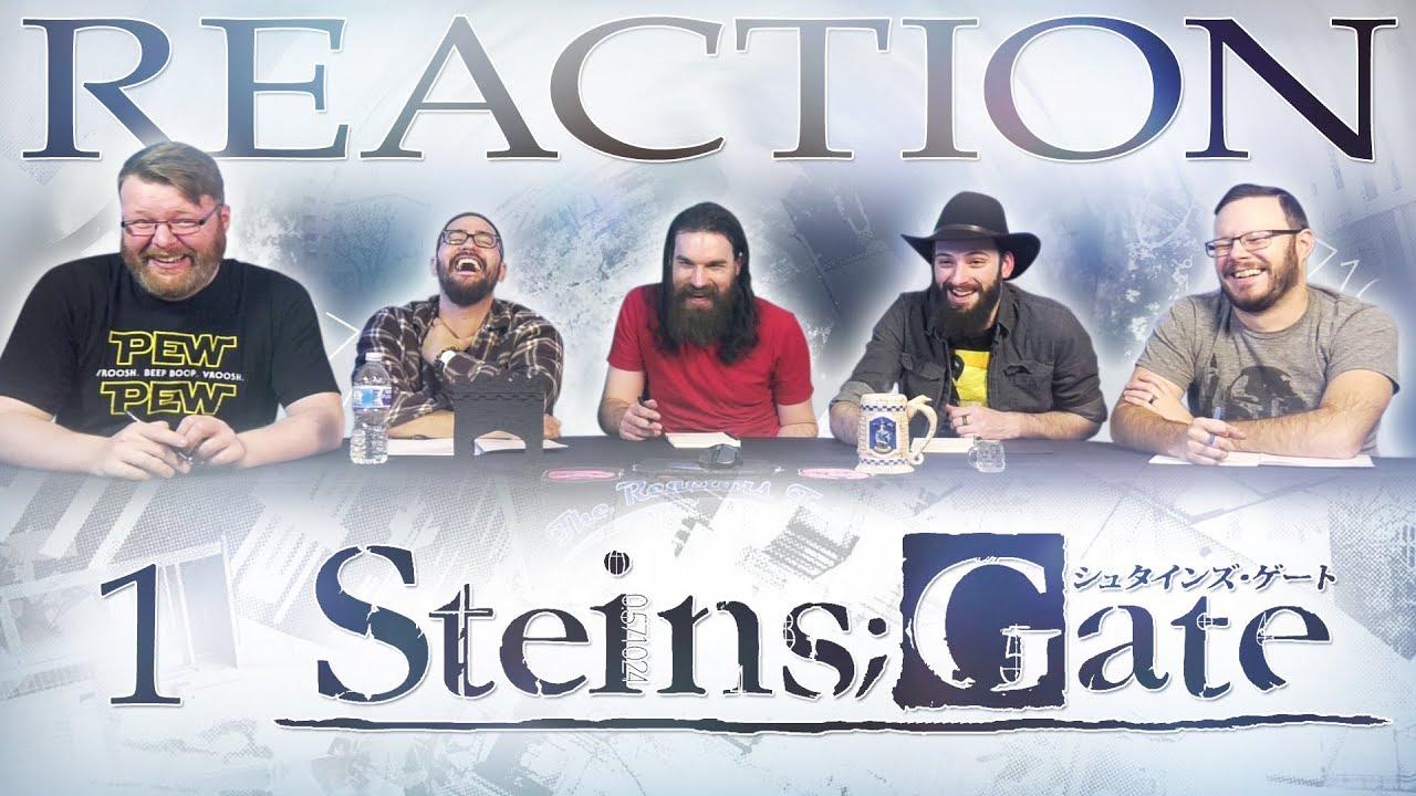 Steins;Gate #1 REACTION!!