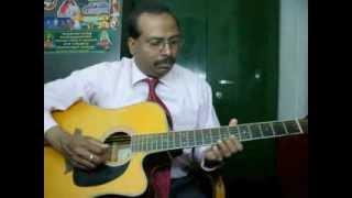 Ninaipathellam nadanthuvittal guitar instrumental by Rajkumar Joseph.M