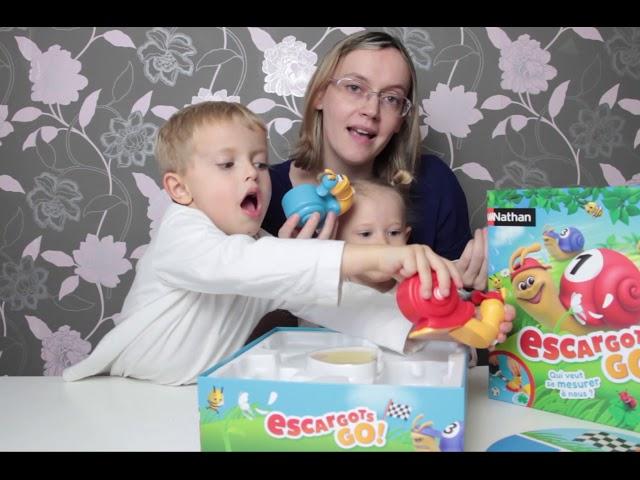 Escargots Go de Nathan : mesurer va devenir un jeu d'enfant