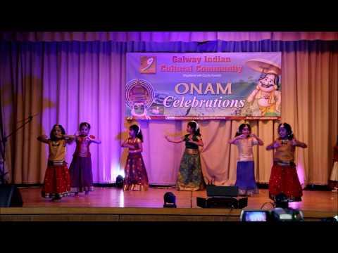 GICC Onam 2014 - Poovili Poovili Dance