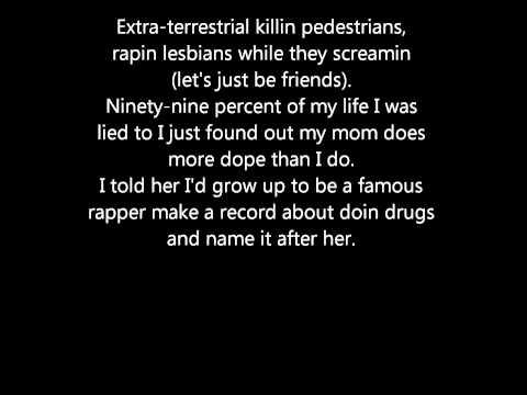 Eminem - my name is (lyrics)