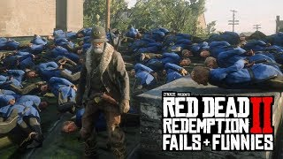 Red Dead Redemption 2 - Fails & Funnies #43