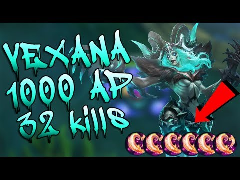 Mobile Legends Vexana 1000 Ap Gameplay (32 Kills)