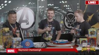 Raymond Chankasingh - Marvel LIVE! at NYCC 2016