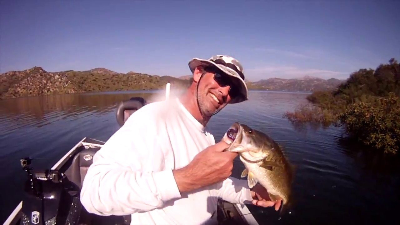 Bass fishing in san diego ca youtube for Fishing license san diego