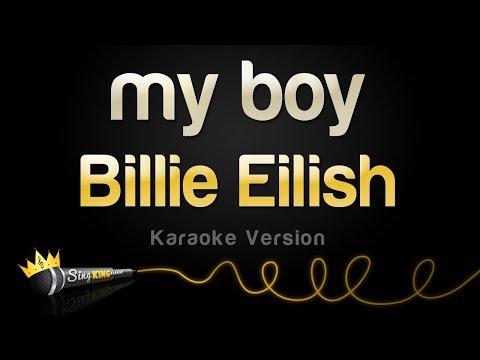Billie Eilish - My Boy (Karaoke Version)