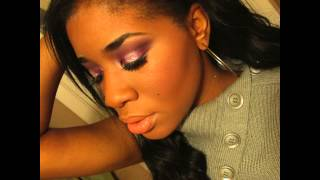 Dance Sugar Plum Fairy Christmas look ft Coastal Scents Revealed 2 eyeshadow palette Thumbnail