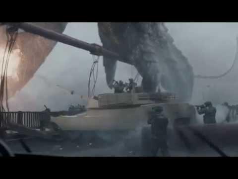 Godzilla 2014 | Godzilla Vs The Golden Gate Bridge