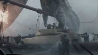 Godzilla 2014 | Godzilla Vs The Golden Gate Bridge