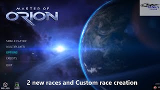 Master of Orion Gamplay, Custom race creation, Let's play, how to, Video