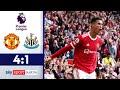CR7-Doppelpack bei Rückkehr! | Manchester United - Newcastle | Highlights - Premier League 2021/22