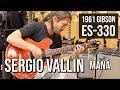 Sergio Vallin from Mana at Norman's Rare Guitars