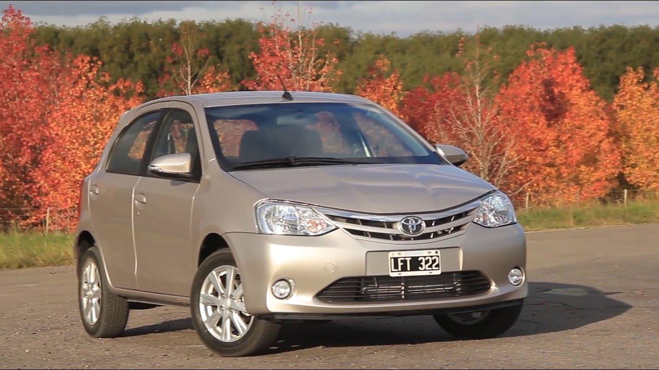 Nuevo Etios 2019 >> Toyota Etios 2016 - Test - Matías Antico - TN Autos - YouTube