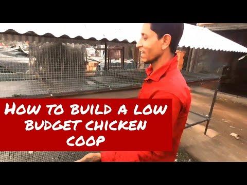 How To Build A Low Budget Chicken Coop ? | Low Budget Chicken Coop Design