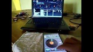 Virtual DJ Remote - cambio de Skin para usar 2 decks DJ - con el Virtual DJ 8