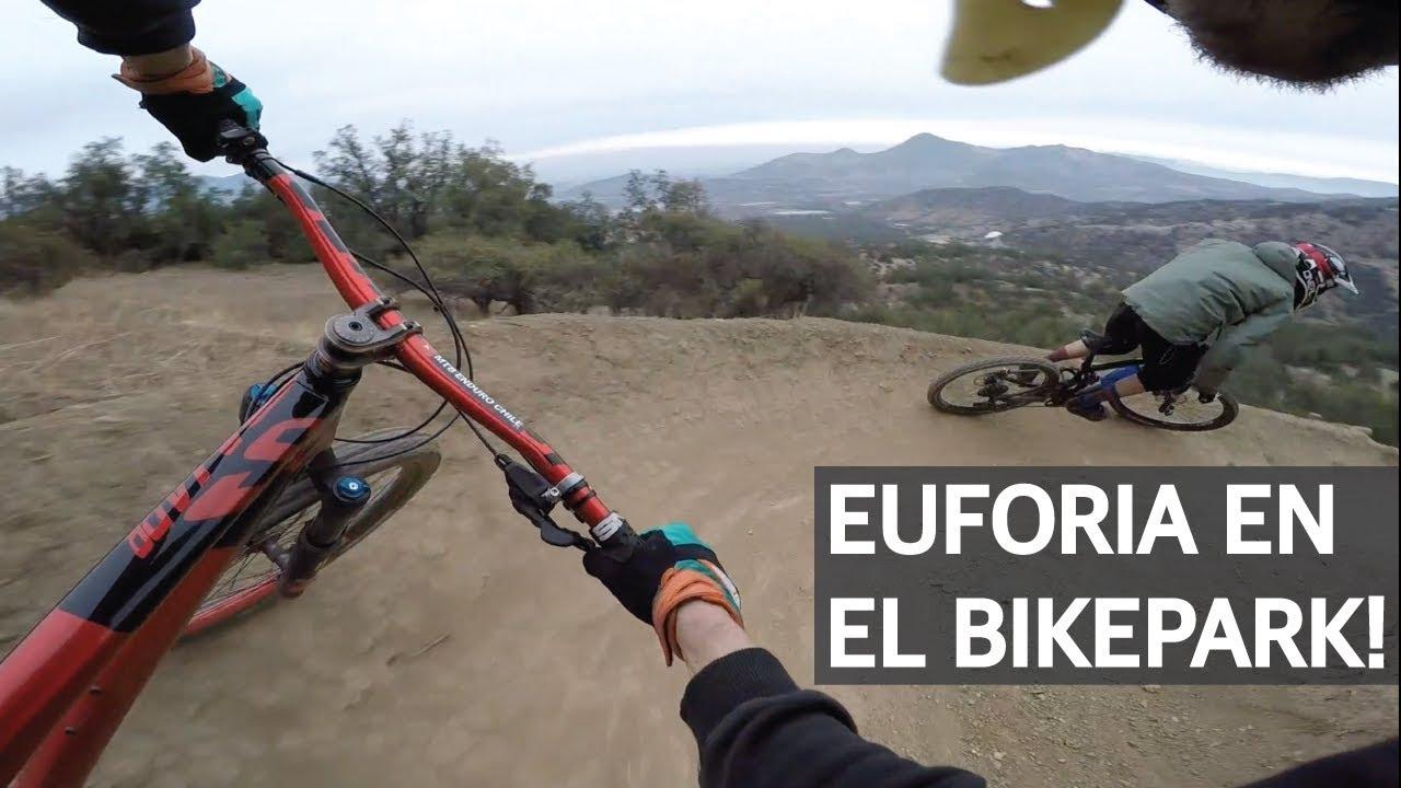 Euforia en el Bike Park con Yerka Crew!