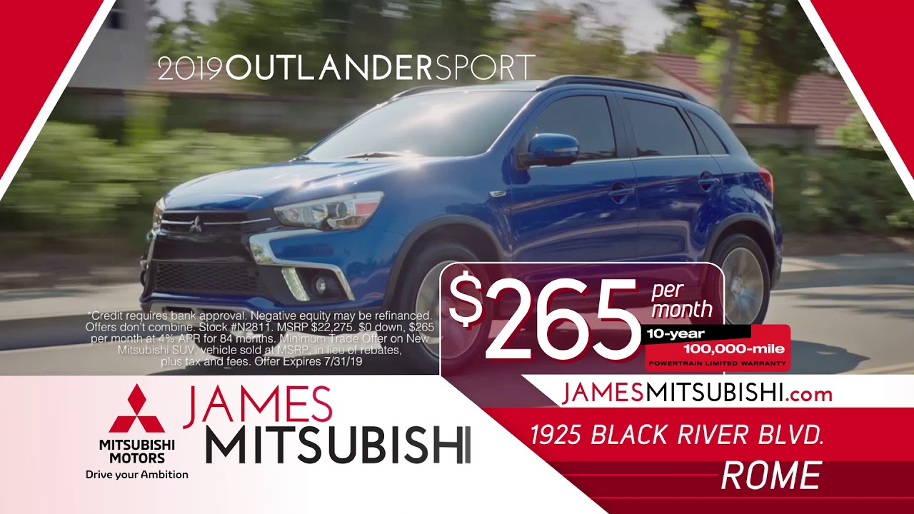 James Mitsubishi - New and Used Cars, Parts and Service | Mitsubishi