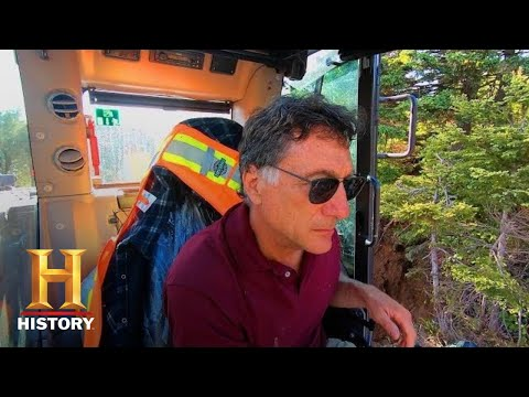 The Curse of Oak Island: SLUICE SHAFT FOUND! (Season 7) | History