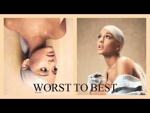 Worst to Best: 'Sweetener' by Ariana Grande (Ranked)