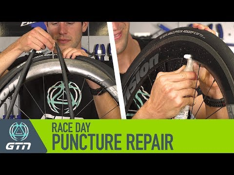 how-to-fix-a-bike-puncture-on-race-day-|-inner-tube-replacement-or-tyre-sealant?
