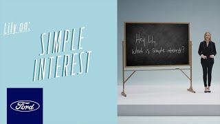 Dealership Preparation: Simple Interest | Auto Finance 101 | Ford thumbnail
