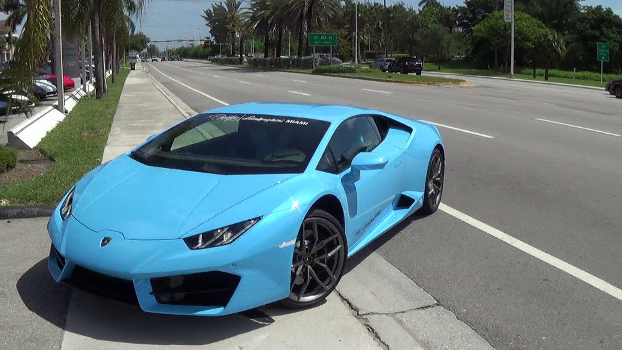 2016 Lamborghini Huracan Lp 580 2 Driving Engine Sound Revs