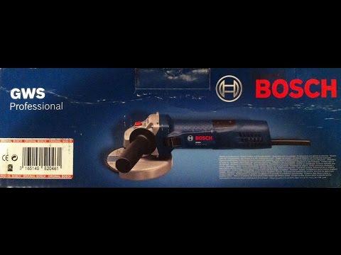 УШМ/Болгарка Bosch GWS 7-125/Обзор(Углошлифовальная  Машина Bosch/Бош)